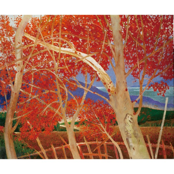 Chen Ming-shan, Autumn Maples, Giclee