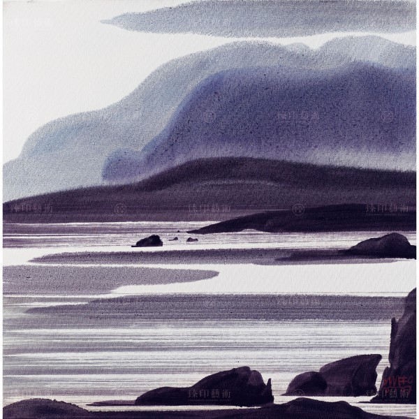 Chen Ming-shan, Corner of the North Sea, Giclee