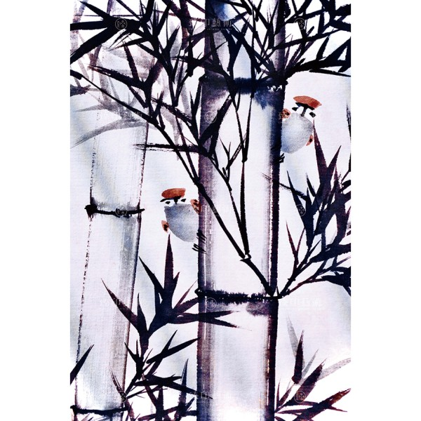 Chang, Zhong-hong, The whisper from Forest, Giclee