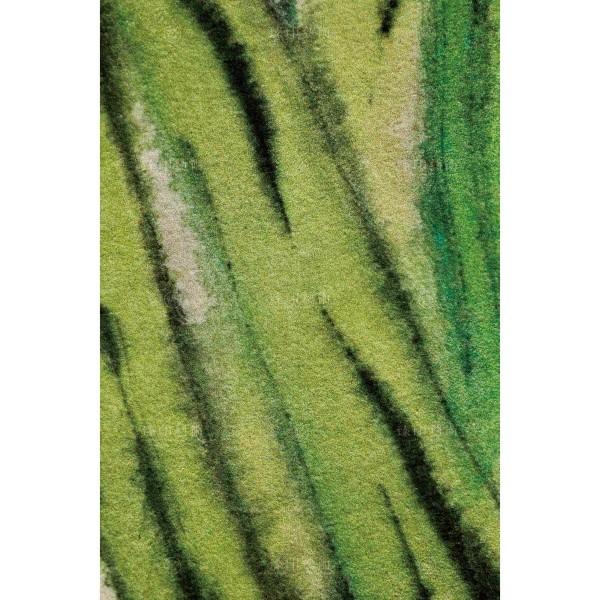 Chang, Zhong-hong, Green Abstract Flower 04, Giclee