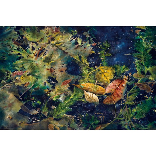 Kuo Hsin-i, Time and Space(XL), Giclee