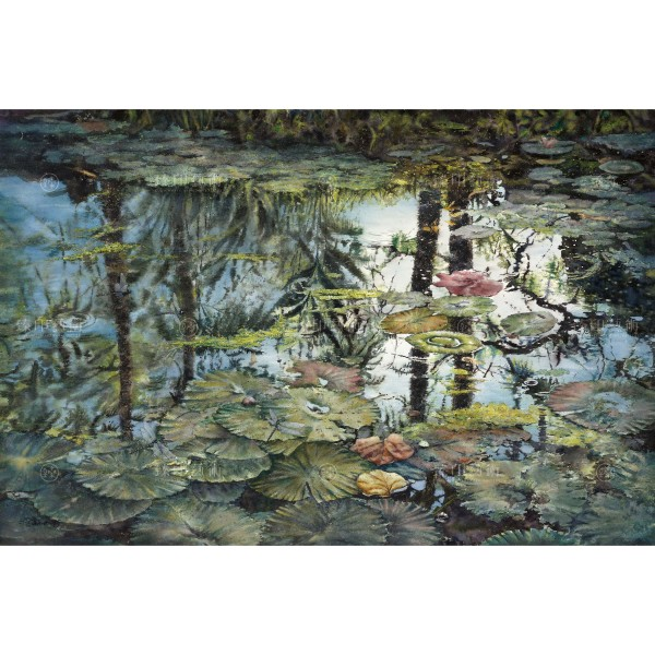 Kuo Hsin-i, Lotus Pond Theater(L), Giclee