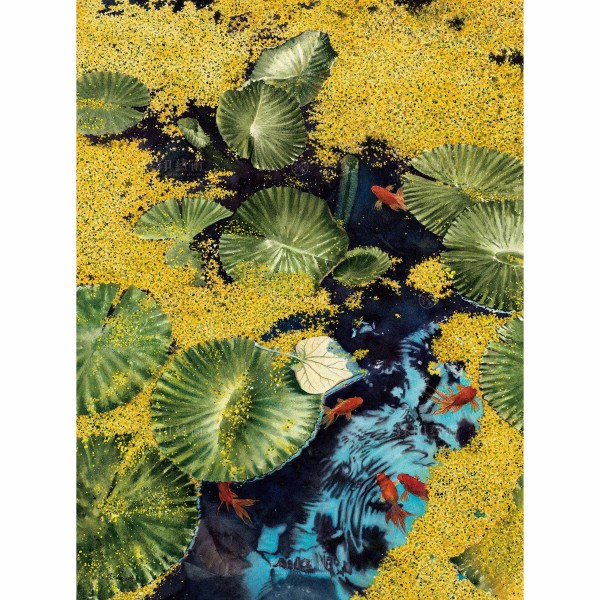 Kuo Hsin-i, Fish Swimming in the Water(L), Giclee