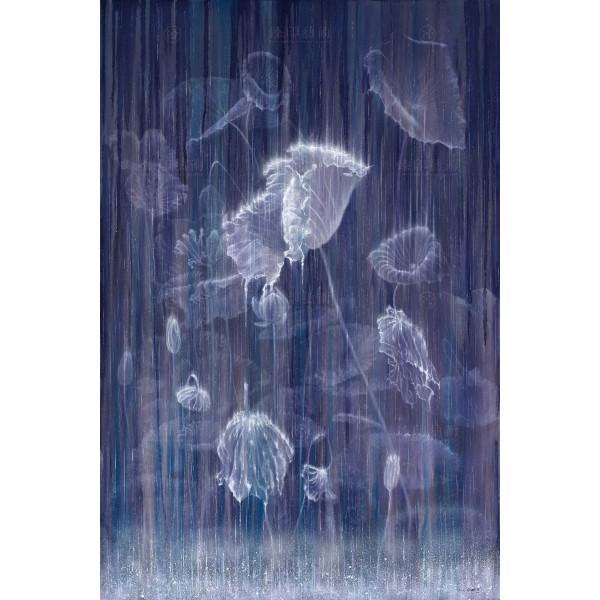 Kuo Hsin-i, Rain_Lotus(S), Giclee