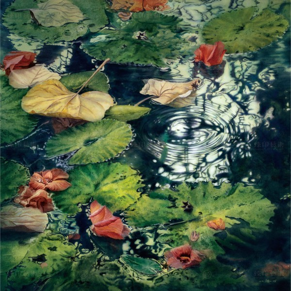 Kuo Hsin-i, The Diffusion Ripple(L), Giclee