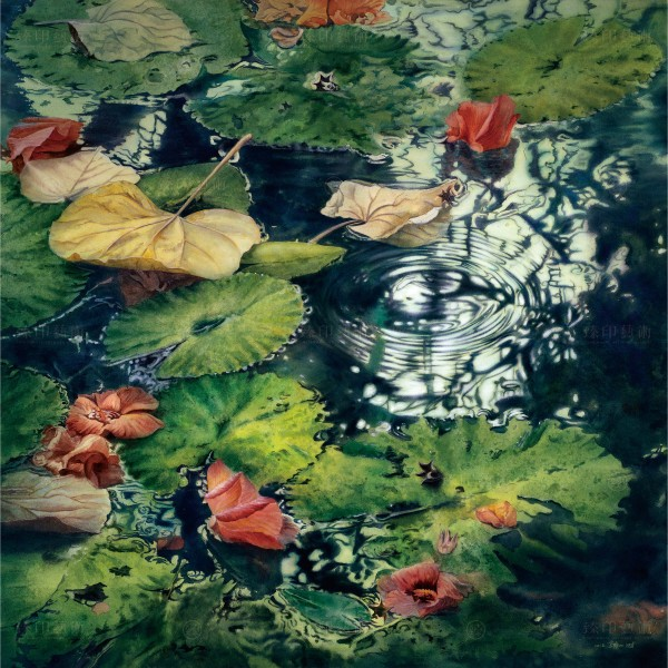 Kuo Hsin-i, The Diffusion Ripple(S), Giclee