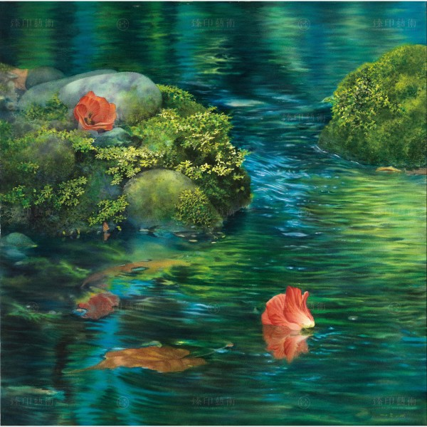 Kuo Hsin-i, A Journey of Ripple(L), Giclee