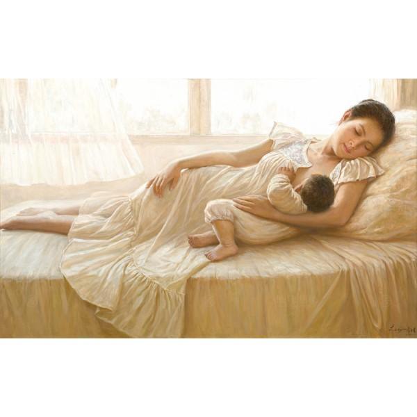 Li Zi-jian, Breastfeeding (L), Giclee