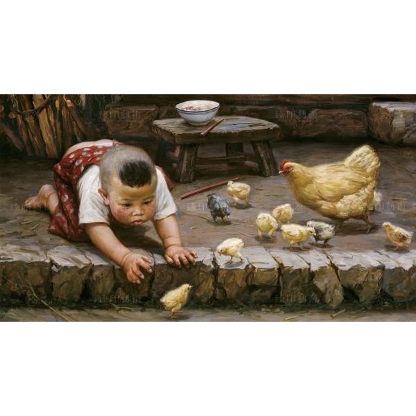 Li Zi-jian, Chick (S), Giclee