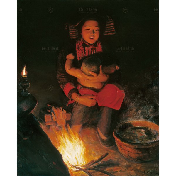 Li Zi-jian, Song of Winter Night (S), Giclee