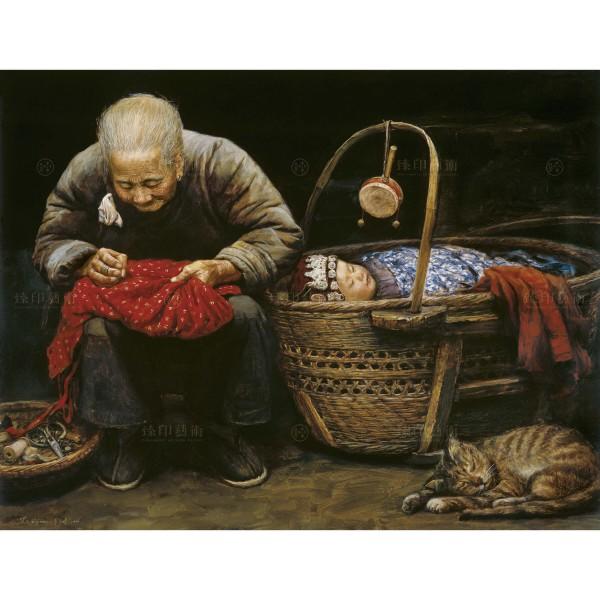 Li Zi-jian, A Warm Winter Day (M), Giclee