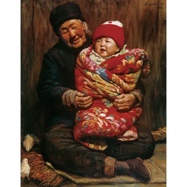 Li Zi-jian, Baby (M), Giclee