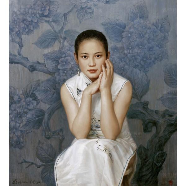 Li Zi-jian, Hunan Girl.Dan-hui (M), Giclee
