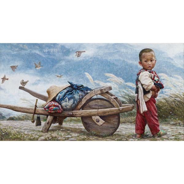 Li Zi-jian, Out of the Mountain (S), Giclee
