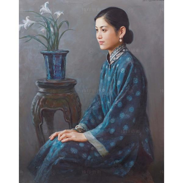 Li Zi-jian, Orchid (S), Giclee