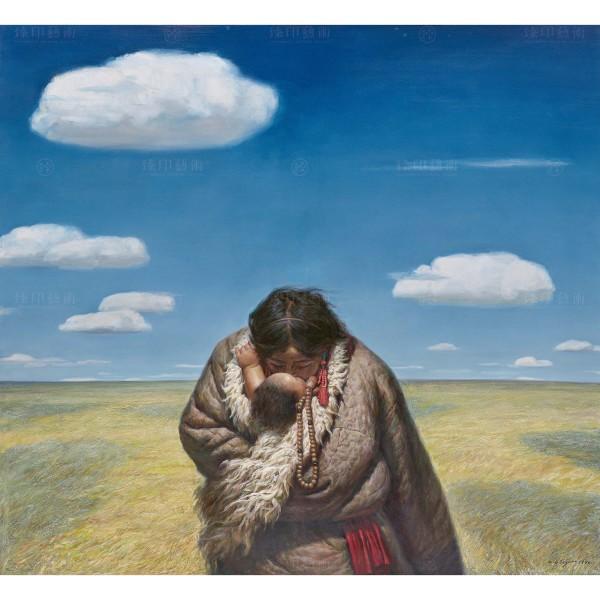 Li Zi-jian, Between Heaven and Earth (L), Giclee