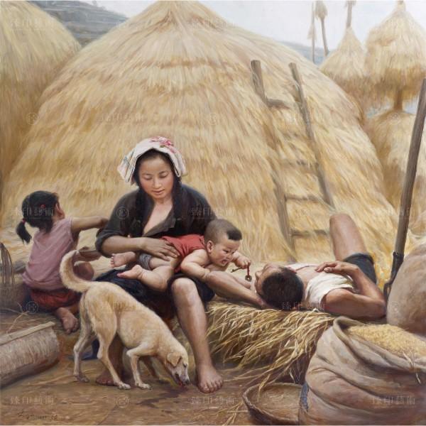 Li Zi-jian, Farmhouse (S), Giclee