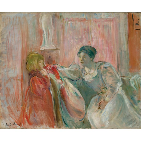 Young Woman and Child, Berthe Morisot, Giclée