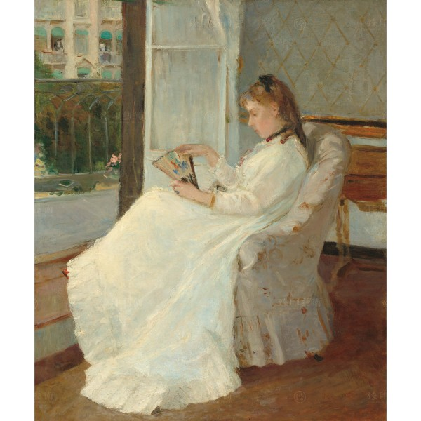 The Artist's Sister at a Window, Berthe Morisot, Giclée