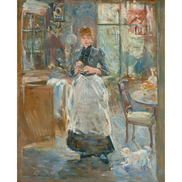 In the Dining Room, Berthe Morisot, Giclée