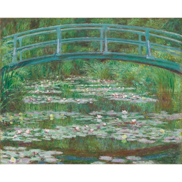 The Japanese Footbridge, Claude Monet, Giclée