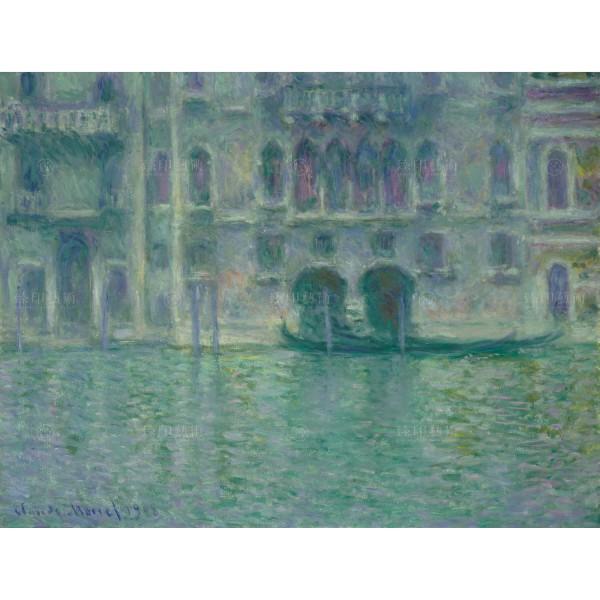 Palazzo da Mula・Venice, Claude Monet, Giclée