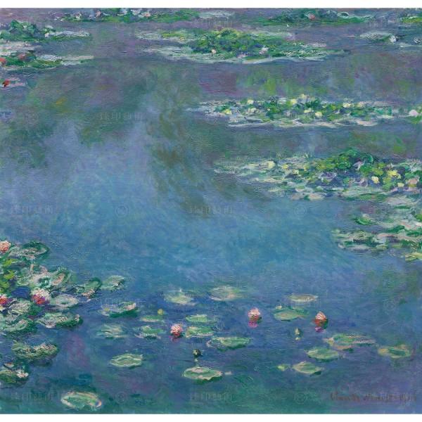 Water Lilies, Claude Monet, Giclée