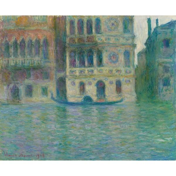 Venice, Palazzo Dario, Claude Monet, Giclée