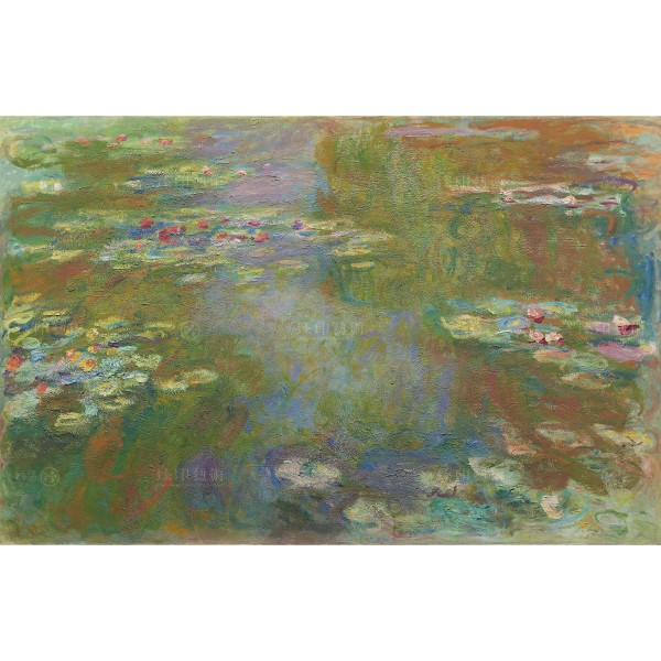 Water Lily Pond, Claude Monet, Giclée