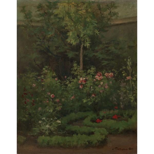 A Rose Garden, Camille Pissarro, Giclée