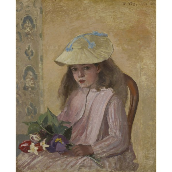 Portrait of the Artist's Daughter, Camille Pissarro, Giclée
