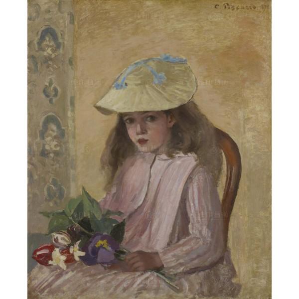 Portrait of the Artist's Daughter, Camille Pissarro, Giclée