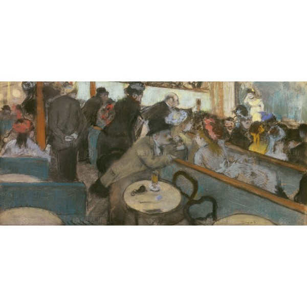 Café-Concert (The Spectators), Edgar Degas, Giclée
