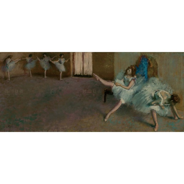 Before the Ballet, Edgar Degas, Giclée