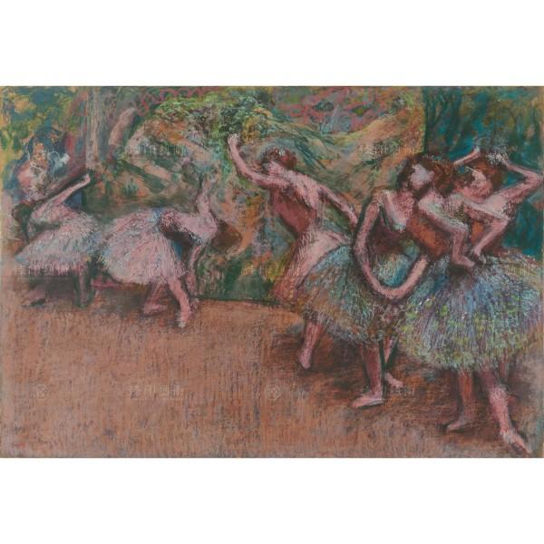 Ballet Scene, Edgar Degas, Giclée