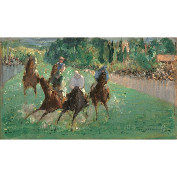 At the Races, Édouard Manet, Giclée