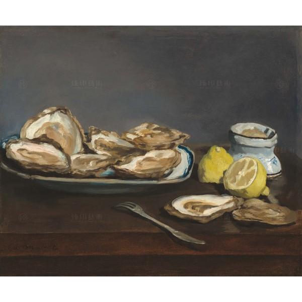 Oysters, Édouard Manet, Giclée