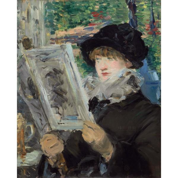 Woman Reading, Édouard Manet, Giclée