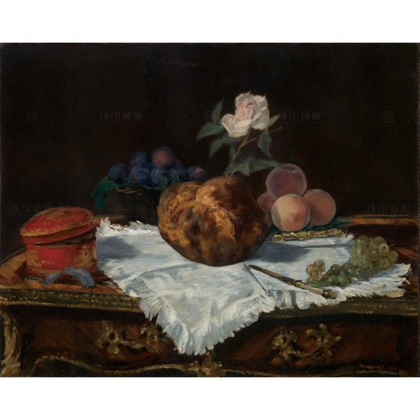 The Brioche, Édouard Manet, Giclée