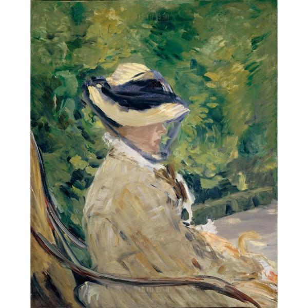 Madame Manet (Suzanne Leenhoff, 1830–1906) at Bellevue, Édouard Manet, Giclée