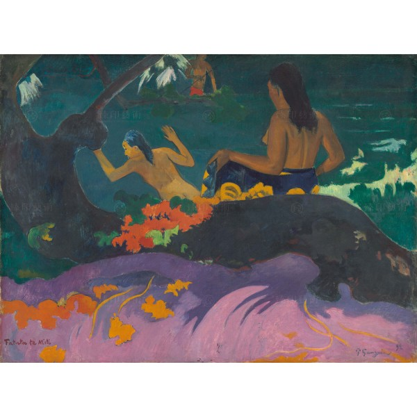Fatata te Miti (By the Sea), Paul Gauguin, Giclée