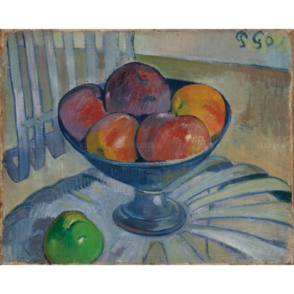 Fruit Dish on a Garden Chair, Paul Gauguin, Giclée