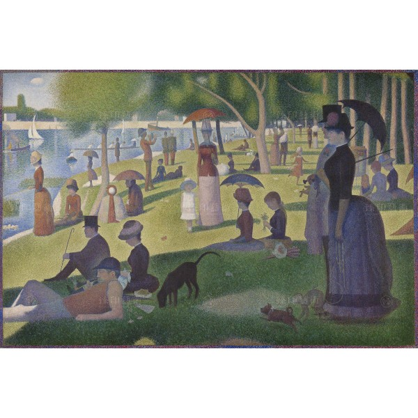A Sunday on La Grande Jatte , Georges Seurat, Giclée