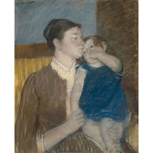 Young Mother, Mary Cassatt, Giclée