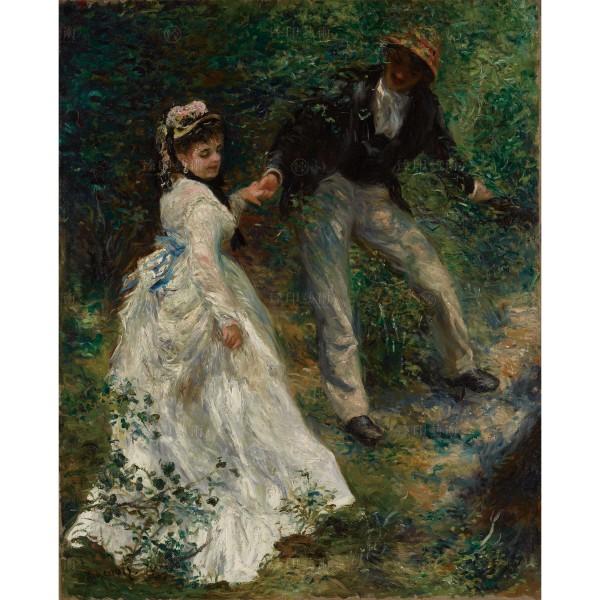 La Promenade, Pierre-Auguste Renoir, Giclée