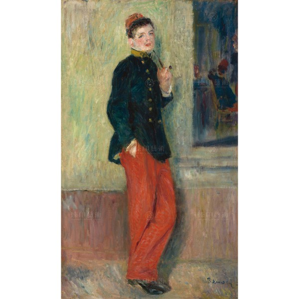 The Young Soldier, Auguste Renoir, Giclée