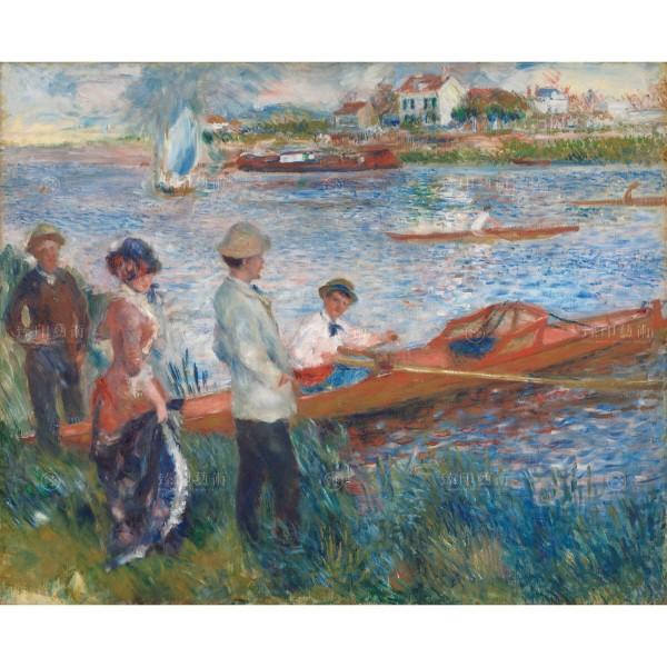 Oarsmen at Chatou, Auguste Renoir, Giclée