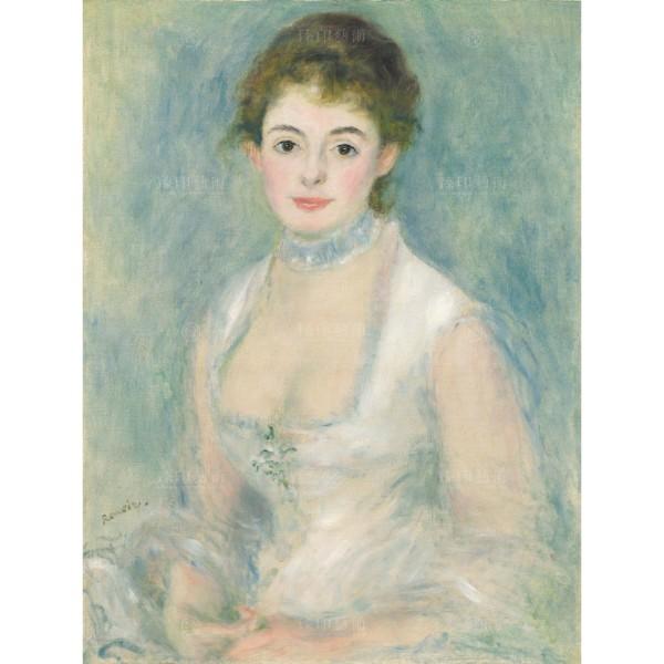 Madame Henriot, Auguste Renoir, Giclée