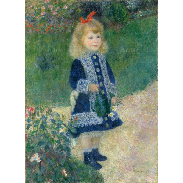 A Girl with a Watering Can, Auguste Renoir, Giclée