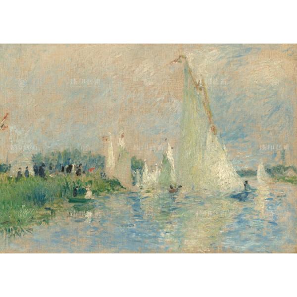 Regatta at Argenteuil, Auguste Renoir, Giclée